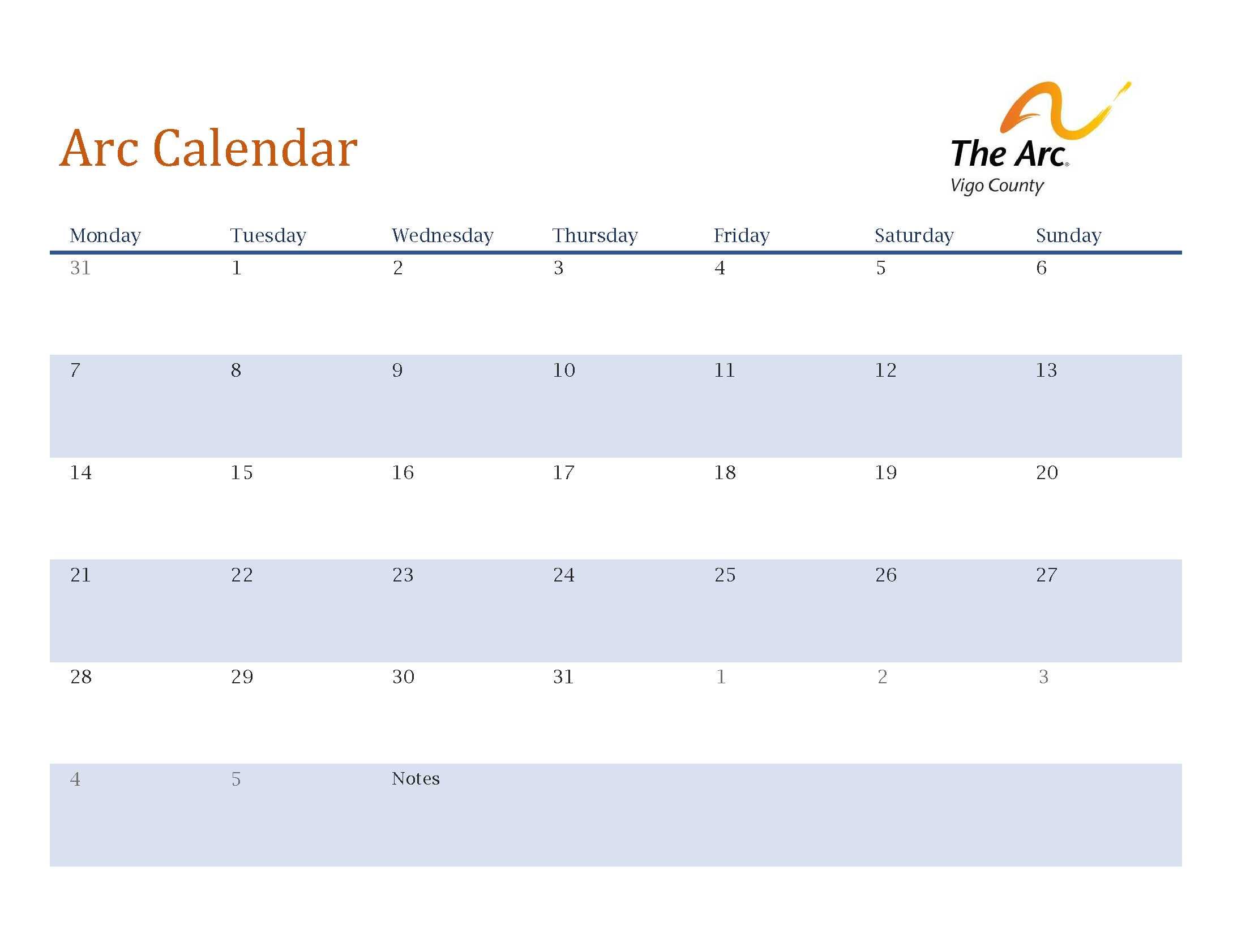 Vigo County School Calendar.Welcome To The Arc Of Vigo County Providing Advocacy For Families